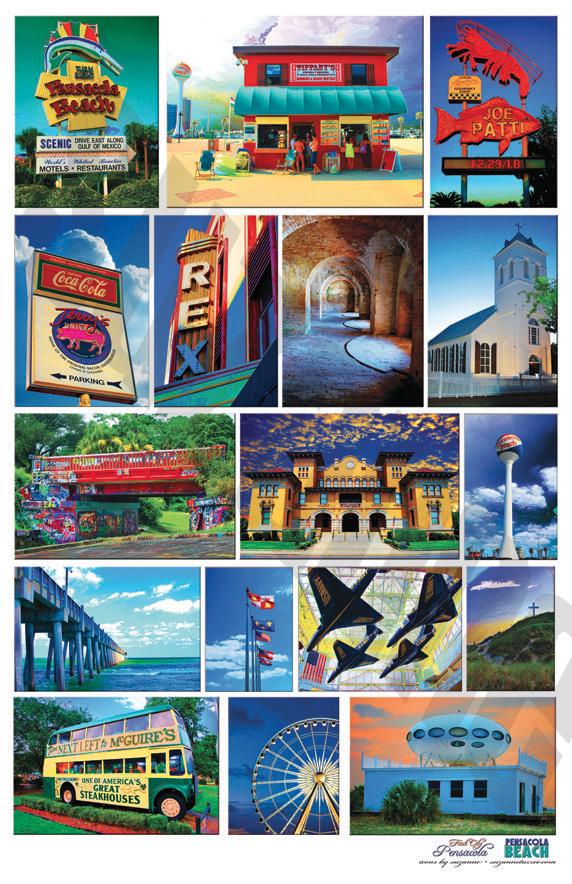 Pensacola Amp Pensacola Beach Icons